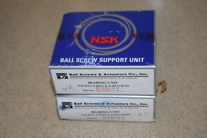 Nsk Ball Screw Support Bearing Unit B10 11 Lot Of 2 new
