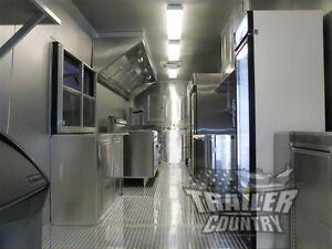 New 8 5x30 8 5 X 30 V nosed Enclosed Concession Food Vending Bbq Trailer