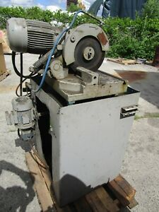 Industrial Cold Saw Maybe Haberle 240 Vac 3 Phase