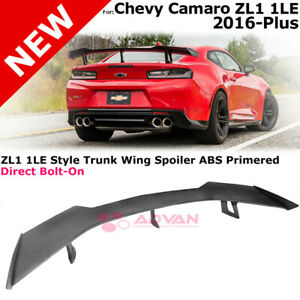 Eos For 16 18 Chevy Camaro Zl1 1le Style Abs Plastic Rear Trunk Lid Spoiler