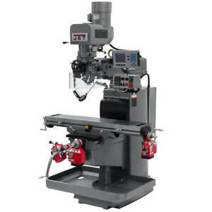 Jet 690623 230 volt 3 hp 3 phase R 8 Mill W Acu rite 200s X Y And Z axis