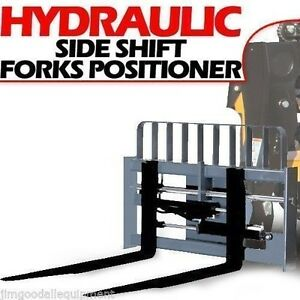 Cat It th Side Shift Fork Positioner 2x5x60 10 000lb Cap 2 25 Shaft With Forks