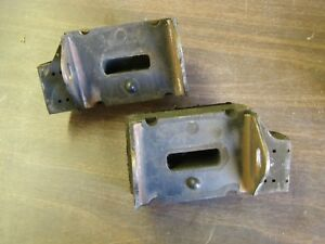 Nos Oem Ford 1972 Thunderbird 400ci Motor Mounts Pair Lincoln