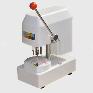 110v Eyeglass Template Drilling Machine Lens Puncher Driller Optical Equipment