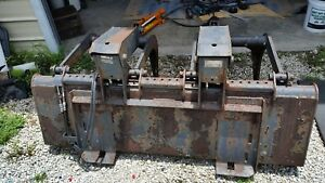 Bobcat 66 Hd Industrial Grapple Bucket For Skid Steer Newly Rebuilt Cylinders