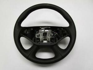Oem 2014 2015 Chevrolet Impala Black Leather Steering Wheel 23455052
