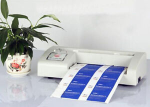 220v Business Card Cutter Automatic Binding Machine Electric Cutter For 3 5 x2
