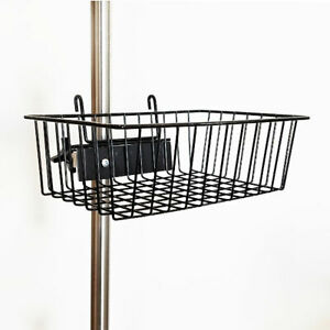 New Mcm 217 Iv Pole Wire Basket 6 X 12 Opening W bracket And Universal Clamp