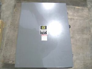 Square D Double Throw Type 1 Dtu324n 200amp 240volt 3pole Non fusible