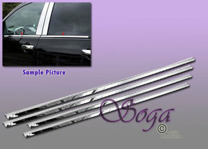For 2004 2015 Nissan Armada Chrome Stainless Steel Window Sill Sills 4pcs 2014