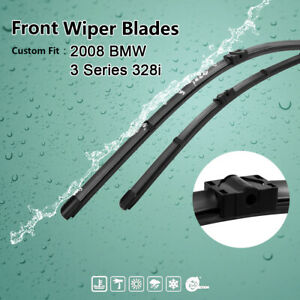 24 17 Exact Fit Front Windshield Wiper Blades For 2008 Bmw 3 Series 328i