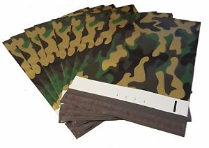 500 9x12 Camo Poly Mailer Plastic Shipping Bag Envelopes Polybag Polymailer