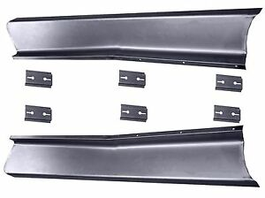 1947 1948 1949 50 51 1952 1953 1954 1955 Chevy Pickup Truck Steel Running Boards