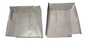 1967 1968 1969 1970 1976 Dart Duster Valiant Scamp Front Floor Pans New Pair