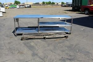 Commerical Kitchen Stainless Steel Table
