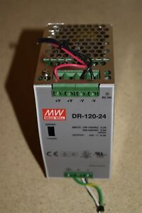 Meanwell Dr 120 24 Power Supply