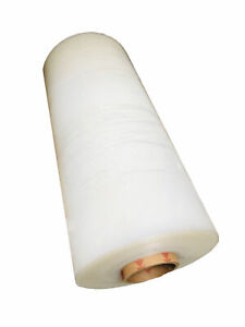 20 X 8000 60 Gauge Pallet Wrap Machine Stretch Film Clear 10 Rolls