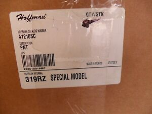 Hoffman A1210sc Junction Box Steel screw Cover Power Coat White 12 x10 x5 New