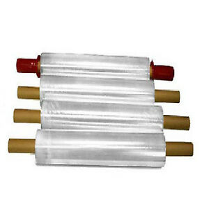 Stretch Wrap With Pre attached Handles 1000 Feet Long X 15 White