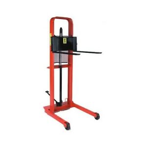 Manual Hydraulic Straddle Fork Stacker Legs Adjust 255 To 32 W 260054 Lifts