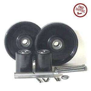 Lift rite L 55 Pallet Jack Wheel Kit complete includes All Parts Shown
