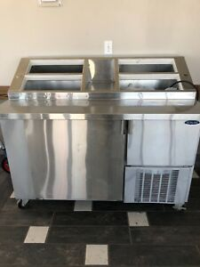 Reduced Norlake Ice Cream Topping Cabinet refrigerator