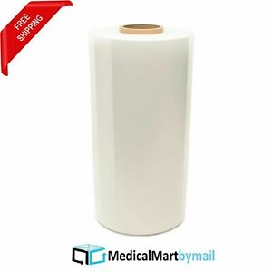 20 X 90 Ga X 5000 Machine Pallet Wrap Stretch Shrink Film Clear 5 Rolls
