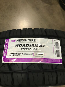 4 New Lt 285 75 17 Lre 10 Ply Nexen Roadian At Pro Ra8 Tires