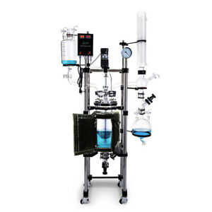 Usa Lab 20l Single Jacketed Glass Reactor