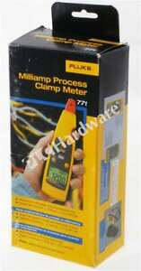 New Fluke 771 Milliamp Process Clamp Meter With Case Qty