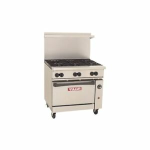 Vulcan 36c 6bn Endurance Natural Gas Range With Convection Oven