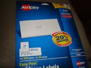Avery Address Labels 8160