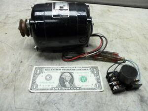 Bodine Electric Small Motor Nsh 34 115v Dc 1 15hp 1725 Rpm Shaft 0 389