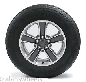 5 Jeep Wrangler 18 Polished Charcoal Factory Oem Wheels Rims Bridgstn At Tires