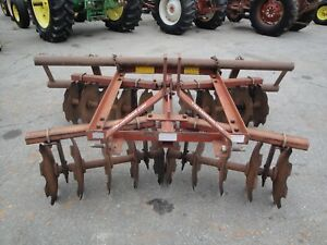 Nice Lienbach 20 Disc 3 Point Hitch Disc Harrow