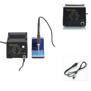 936b Smd 110v Electric Soldering Iron Station Welding Tool Welder Set W Stand