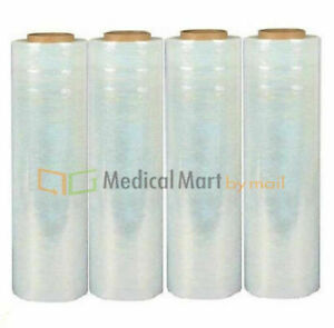 18 X 1500 70 Gauge Blown Sigma Hand Stretch Wrap Shrink Film 12 Rolls