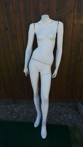 Vintage Full Body Female Mannequin 64 Tall