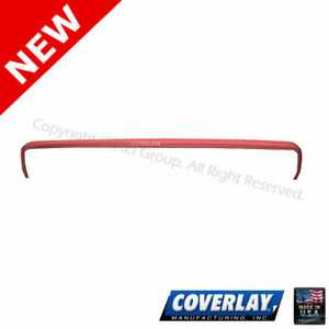 Red Dash Board Cover 12 304 rd For Ltd Crown Victoria coverlay