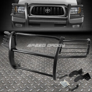 For 98 04 Toyota Tacoma Pickup Black Coated Mild Steel Front Bumper Grill Guard