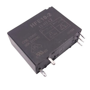 Us Stock Hfe10 2 12 ht l2 Miniture High Power Latching Relay 50a 277vac