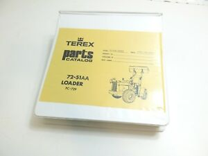 New Terex Parts Catalog For Loader 72 51 72 51aa S n 46562 65521 Aftermarket