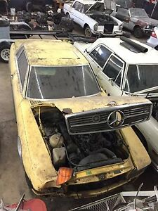 Mercedes R107 C107 350slc Project Car Eu Model Engine Transmission
