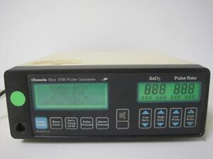 Ohmeda Biox 3700 Pulse Oximeter Sao2 Pulse Rate Patient Monitor Used Working