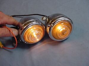 Guide B 31 Teardrop Vintage Cowl Turn Signal Reverse Back Up Parking