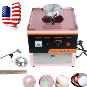 Electric Cotton Candy Machine Floss Maker Commercial Carnival Party Usa Shipping