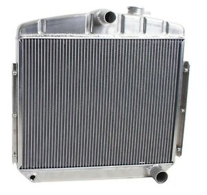 Griffin 6 00047 Aluminum Exact Fit Radiator For Manual Transmission 1955 Chevy