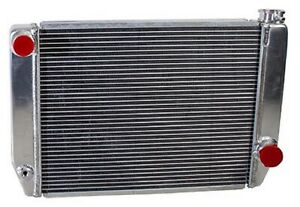 Griffin 1 25201 X Aluminum Universal Fit Radiator For Chevy Dodge Racer