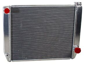 Griffin 1 25222 X Aluminum Universal Fit Radiator For Chevy Dodge Racer
