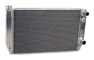 Griffin 1 58241 xls Aluminum Universal Fit Radiator For Chevy Dodge Racer